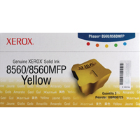 Xerox Phaser 8560 Yellow Solid Ink Stick (Pack of 3) 108R00725