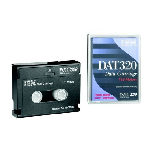 IBM 4mm DDS3 125m Data Cartridge 12/24GB             59H3465
