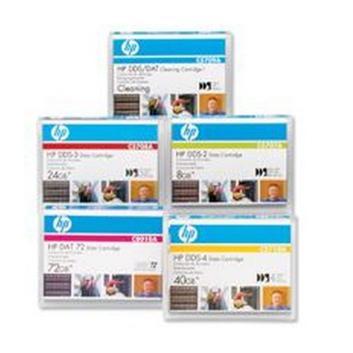HP 4mm Data Tape 125m 12gb                            C5708A