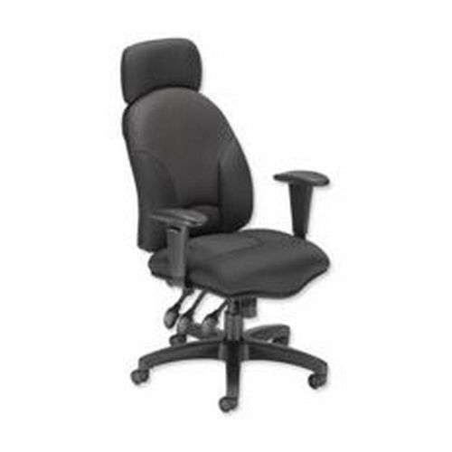 Influx Aviator Task Chair Black                       414723