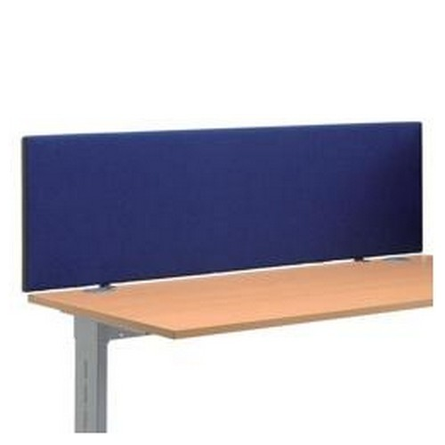 Trexus 1600 Desktop Screen With Easy-Fit Clamps Royal Blue