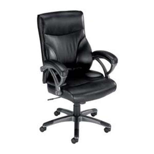 Influx Breeze Executive Armchair Leather look Black   464766