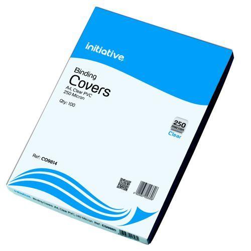 Initiative Cover A4 250 Micron Clr 100s