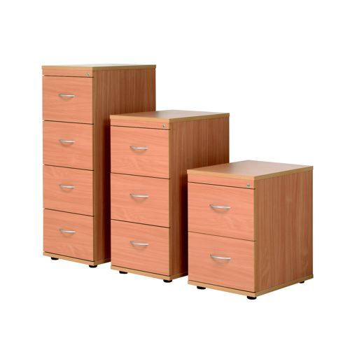 Initiative 4D Filing Cabinet Beech                    419031