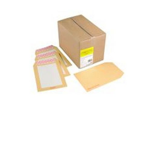 Humber Brd Backed Env 324x229mm Ssl Manilla Pack 125   02121