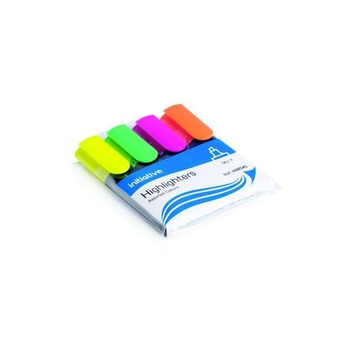 Initiative Highlighters Wallet Ast 4s