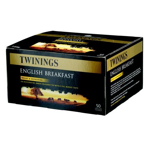 Twinings Tea Bags Eng Break Fine High Qlty Aromatic Pk 100