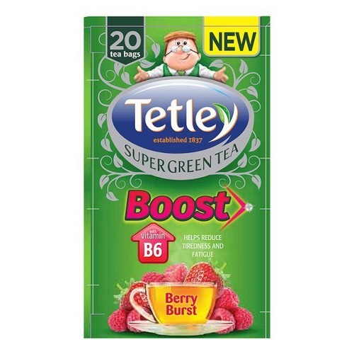 Tetley Boost Berry Burst Pack 20