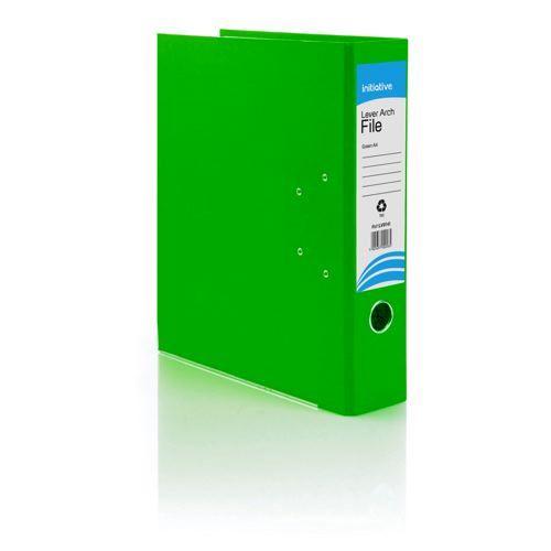 Initiative Lever Arch File A4 Green