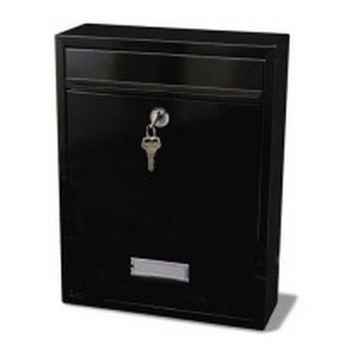 G2 Trent Post Box Black