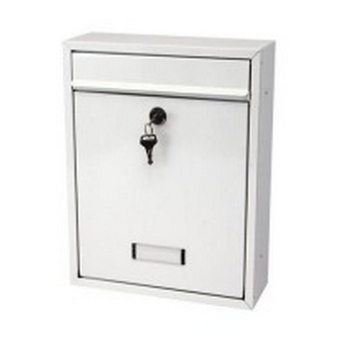 G2 Trent Post Box White