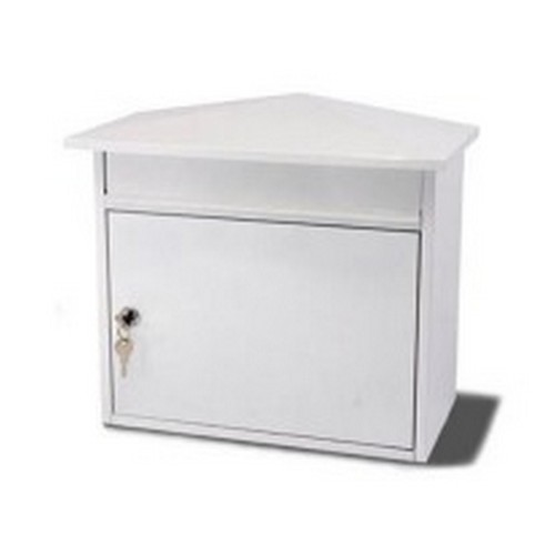 G2 Mersey Post Box White