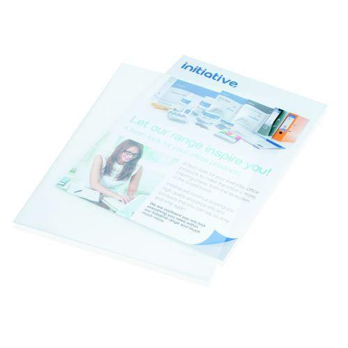 Initiative Folders A4 Glass Clear 100s