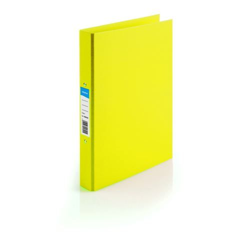Initiative PP Ring Binder 25mm A4 Yellow