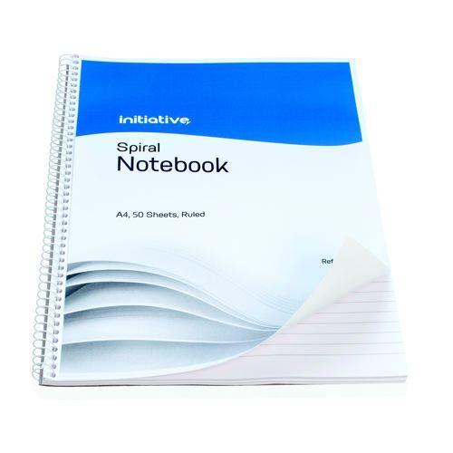 Initiative Spiral Notebook A4 Rld 100pg