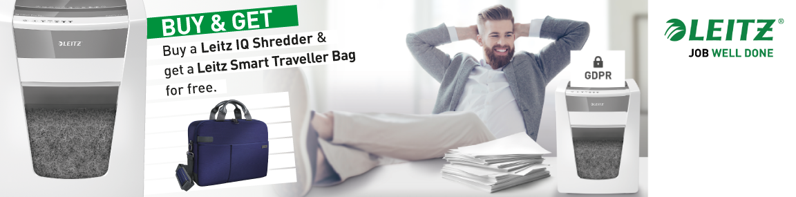 Free Leitz Travel Bag worth up to £180 Banner Image