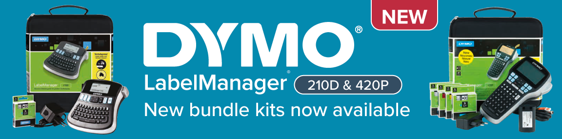 New DYMO LabelManager Bundles Banner Image