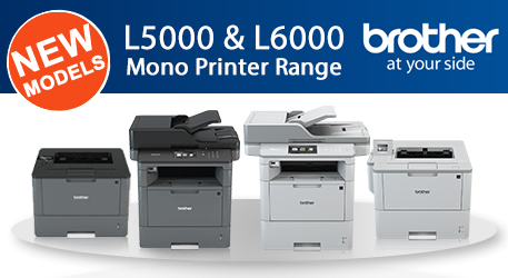 NEW Brother Mono Laser Printers Banner Image