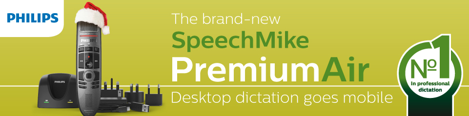 Philips SpeechMilke Air Banner Image