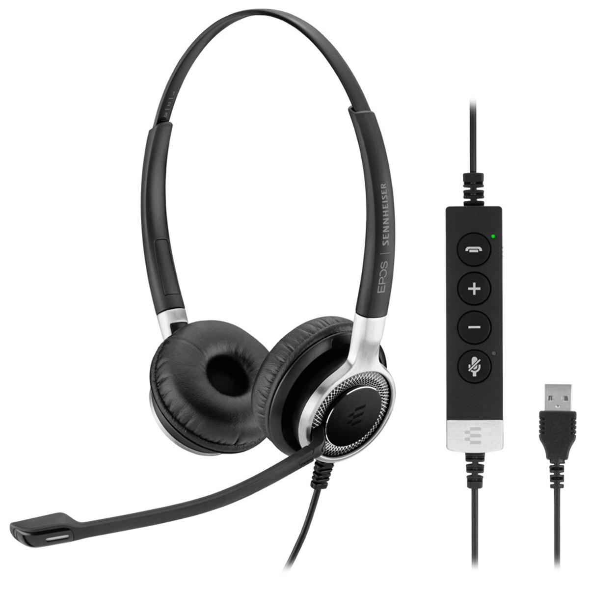 EPOS Sennheiser SC660 USB ANC Stereo Headset