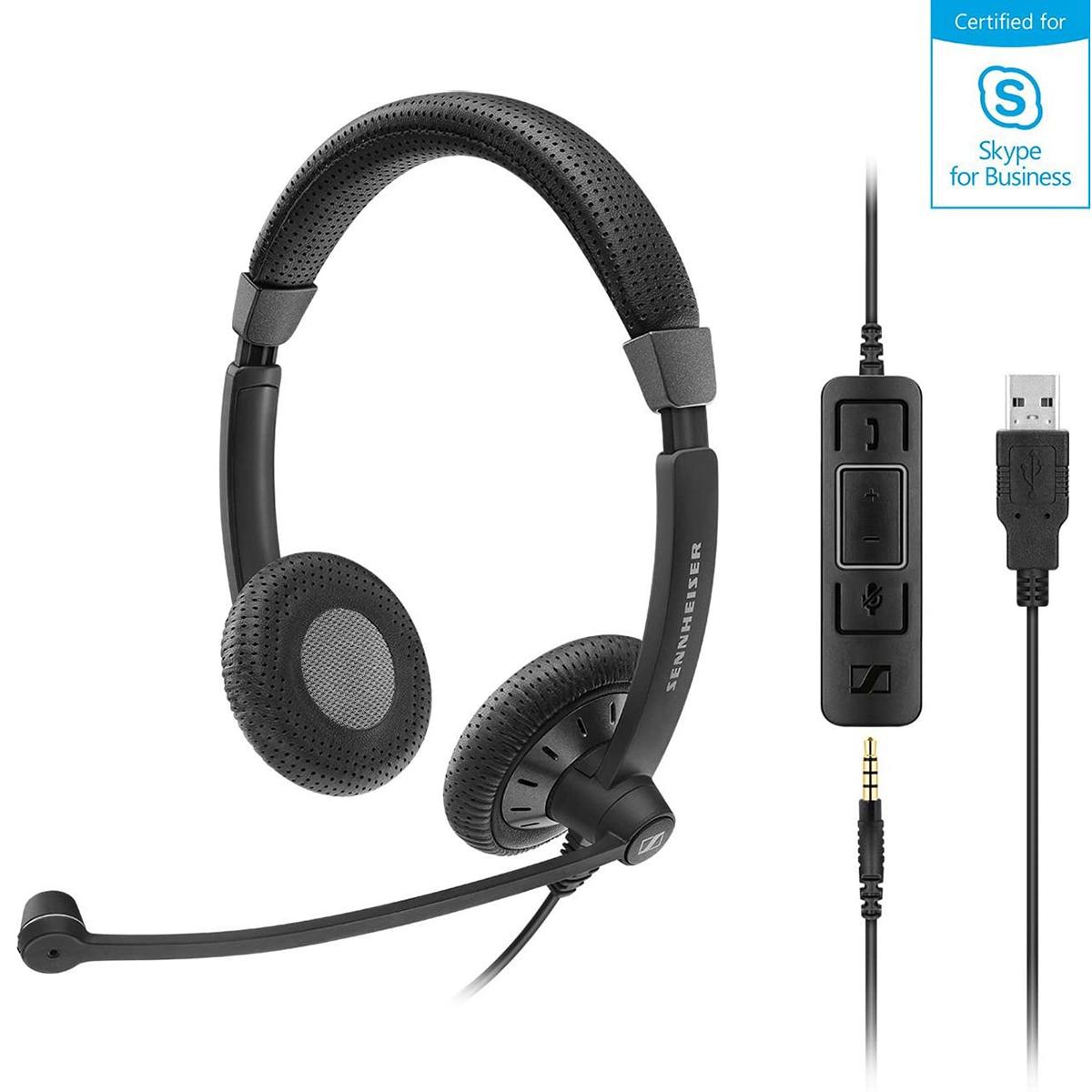 EPOS Sennheiser SC45 USB and 3.5mm MS Mono Headset