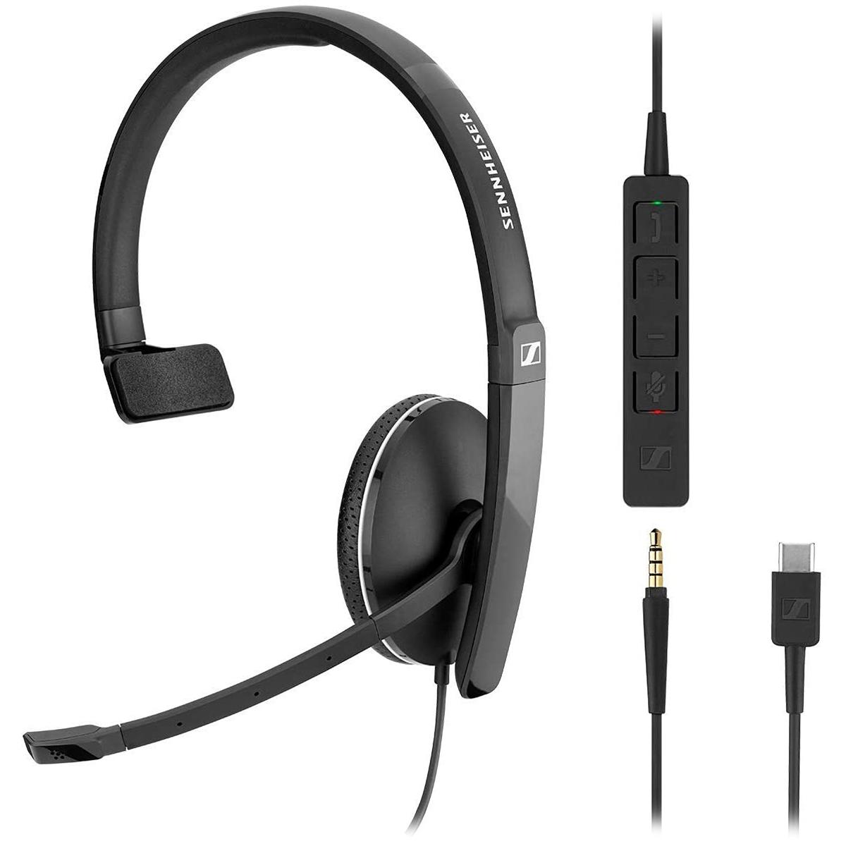 EPOS Sennheiser SC135 USB-C Mono Headset