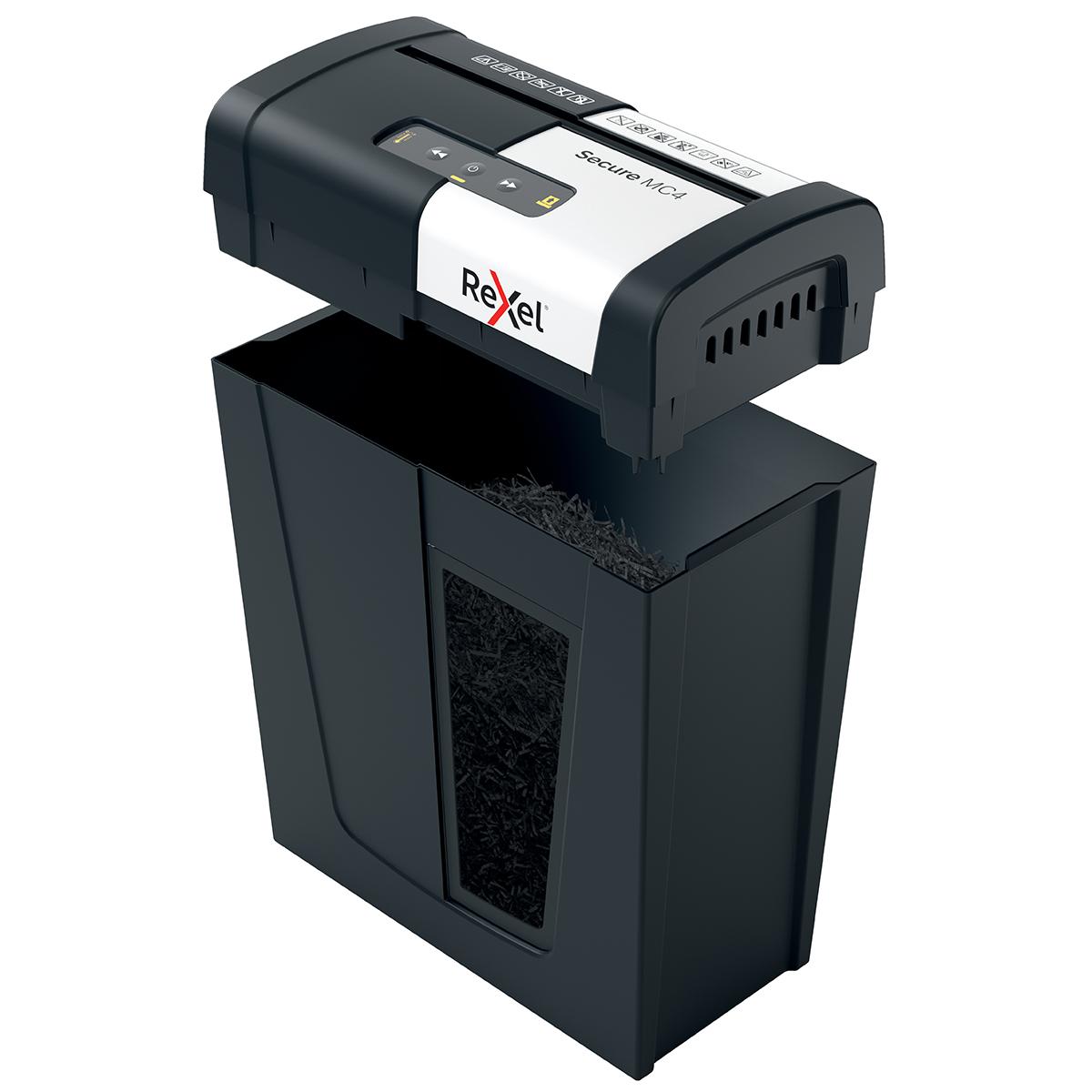 Rexel Secure MC4 Personal Micro cut Shredder