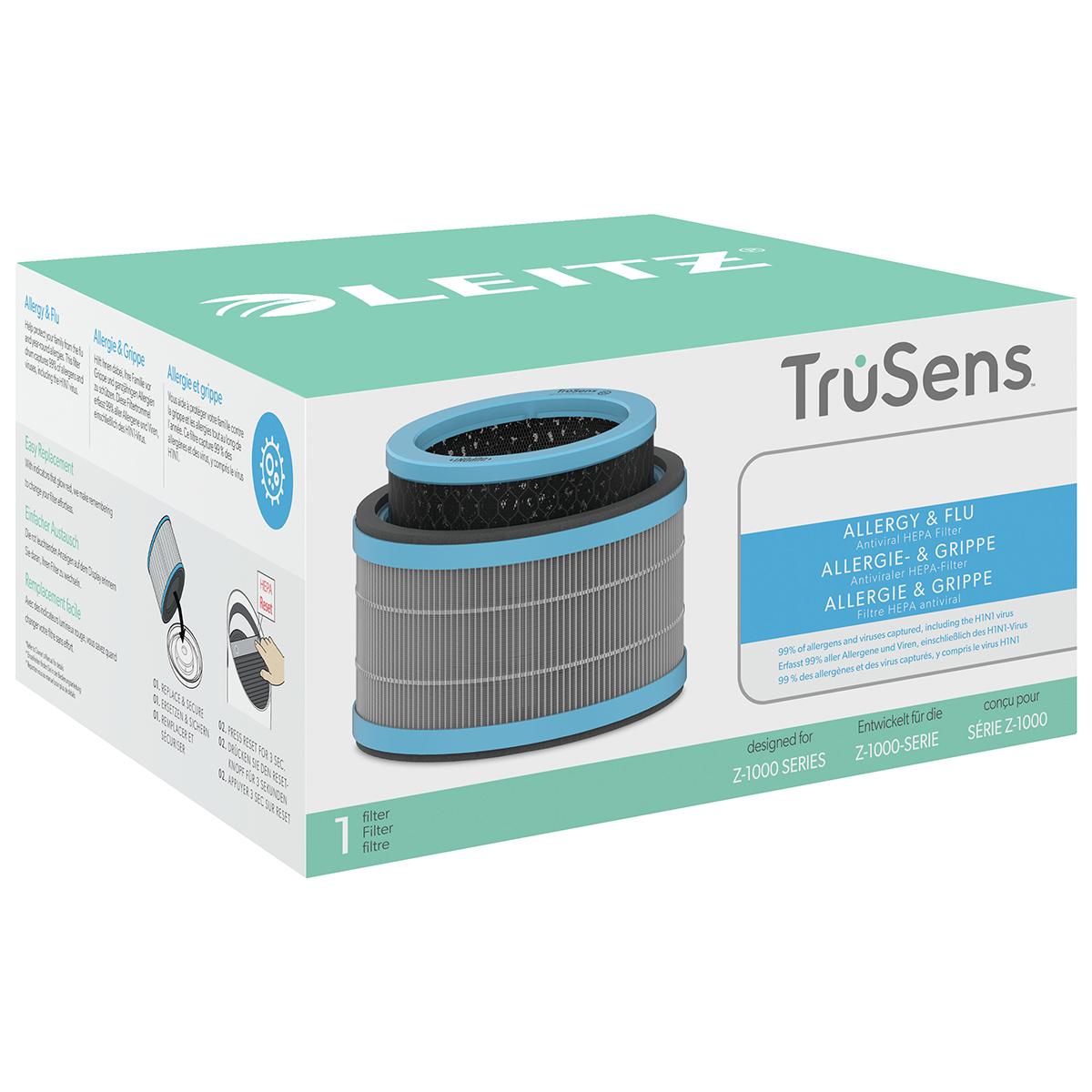 Leitz TruSens Z-1000 Allergy and Flu Anti-viral 3-in-1 HEPA Filter Drum