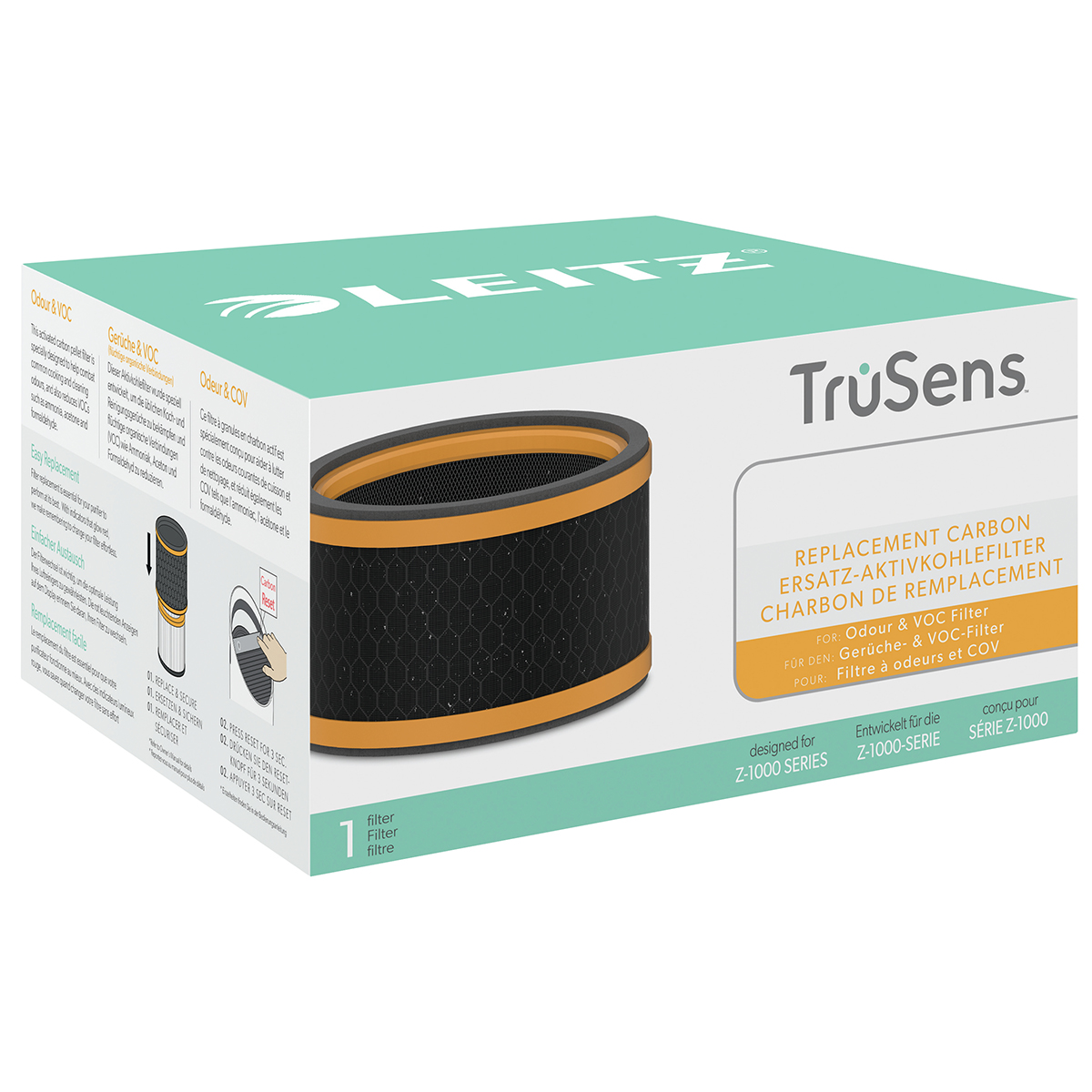 Leitz TruSens Z-1000 Odour and VOC 3-in-1 Carbon Filter