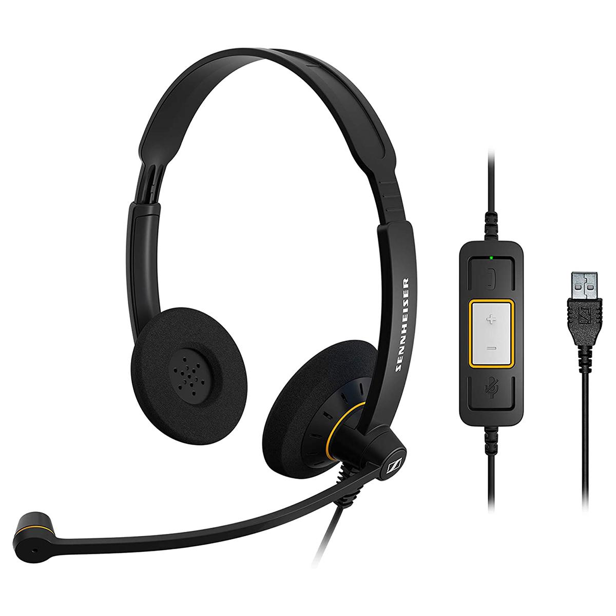 EPOS Sennheiser SC60 Usb Ml Bin MS Lync Headset