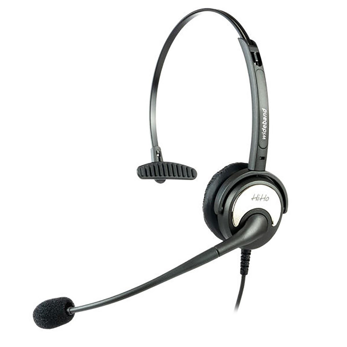 HiHo 100P Monaural QD Headset with Boom Mic