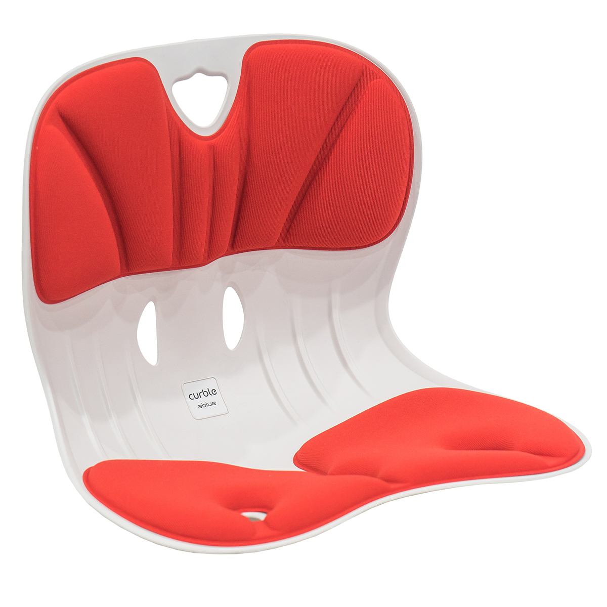 Curble Wider Posture Corrector Chair Red