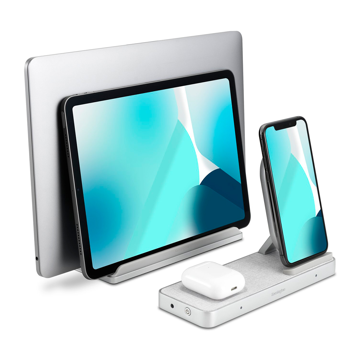 Kensington K59090WW StudioCaddy with Qi wireless charging for Apple devices