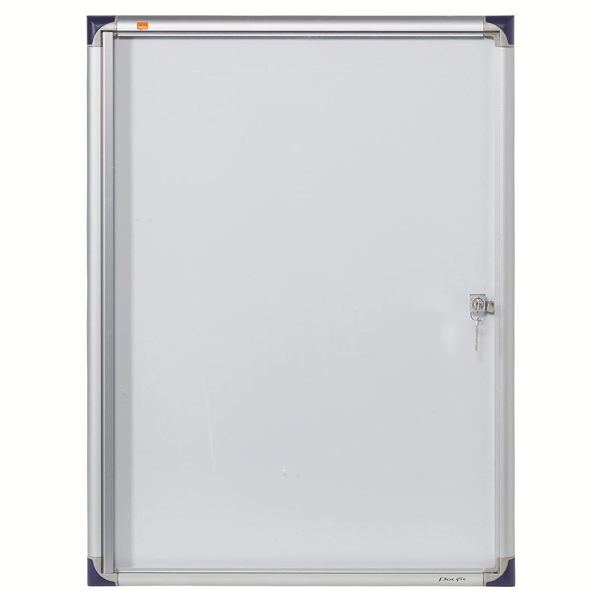 Nobo 1900846 Internal Flat Glazed Case 4 x A4 Magnetic