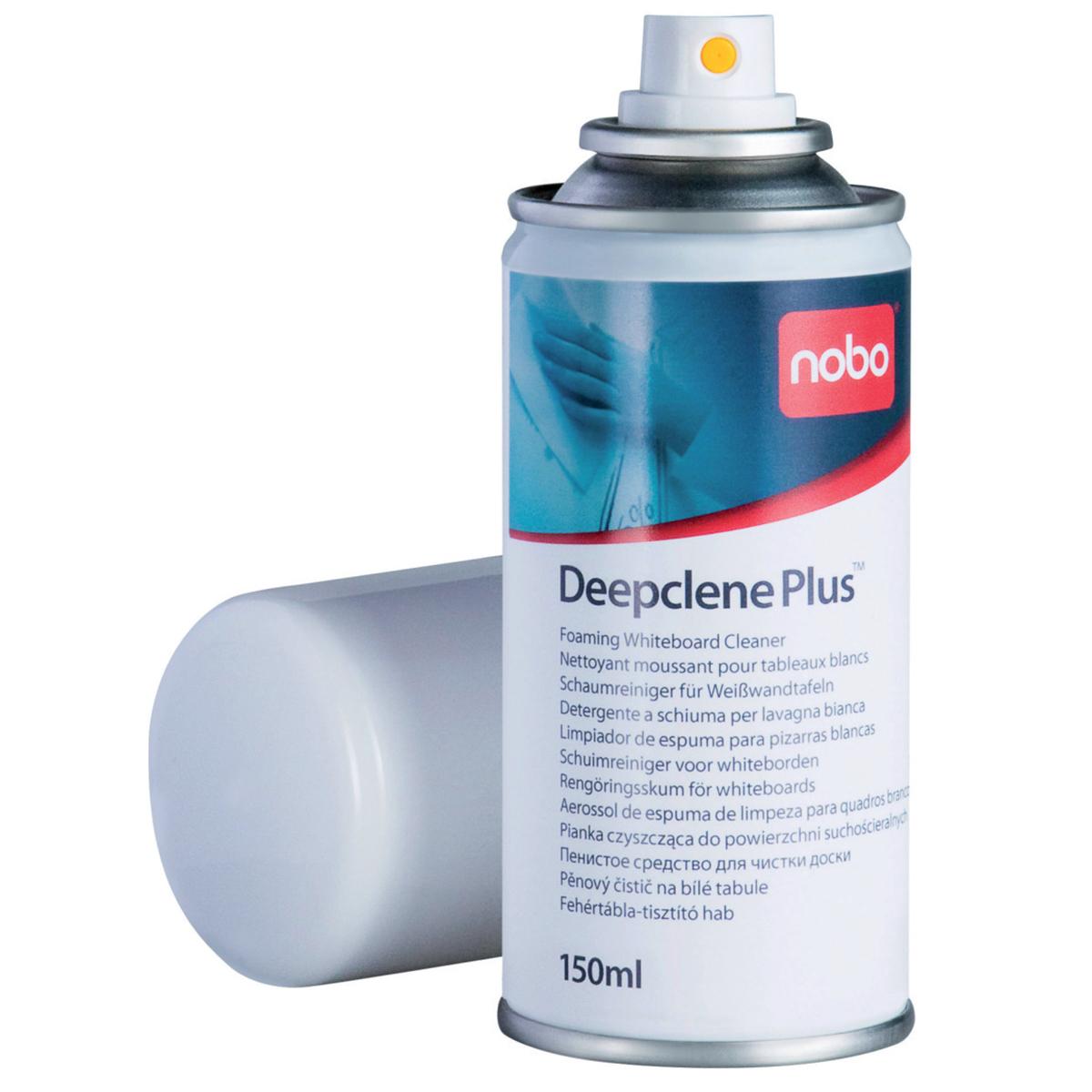 Nobo 34538408 Deepclene Plus Foaming Whiteboard Cleaner 150ml