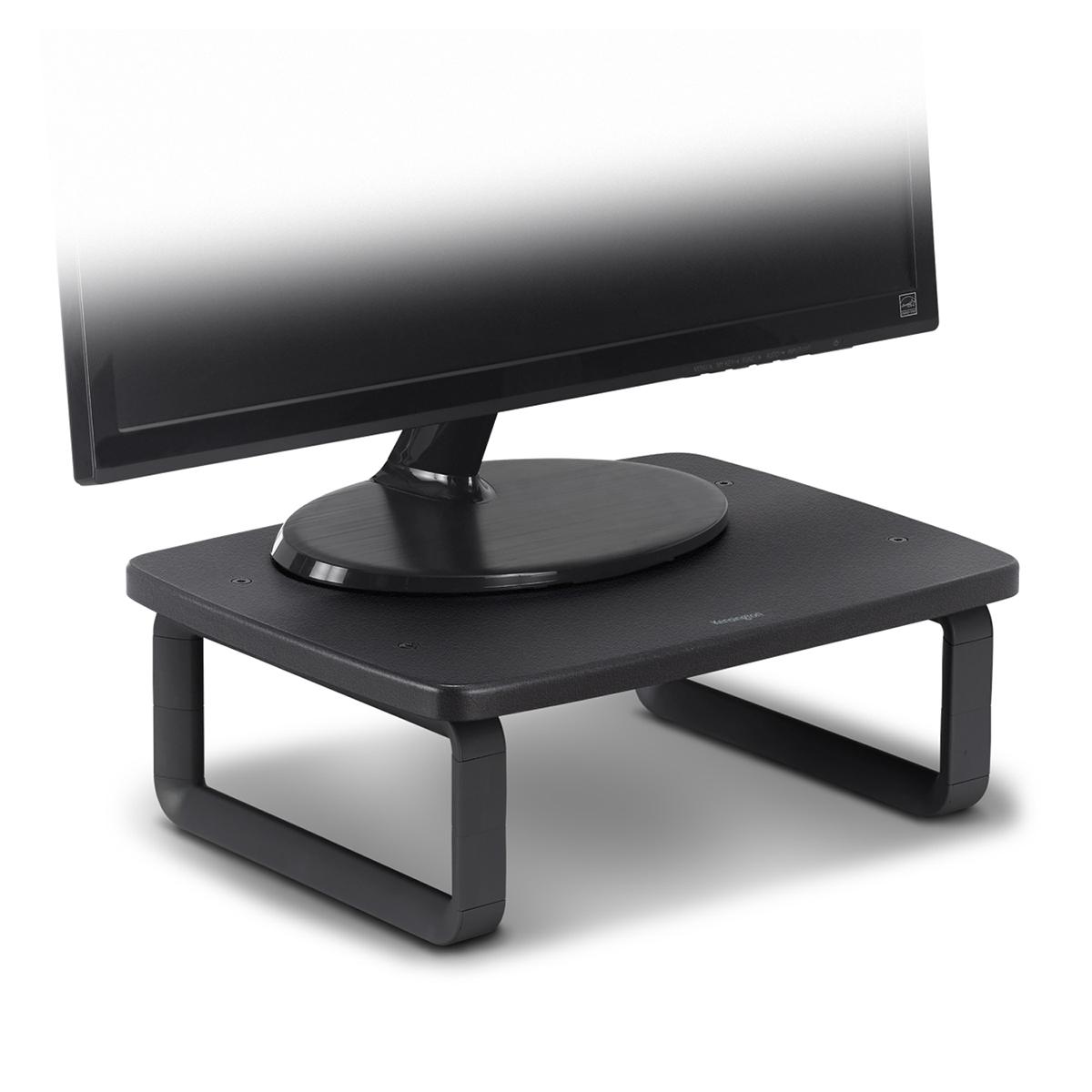 Kensington K52786WW Monitor Stand Plus with SmartFit System - Black