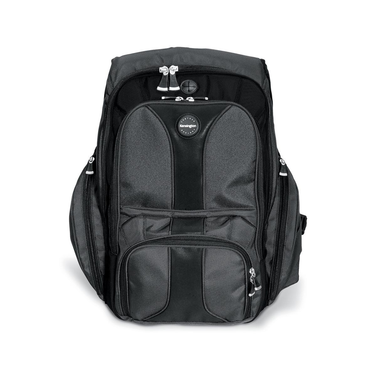Kensington 1500234 Contour 15.6 Inch Laptop Backpack- Black