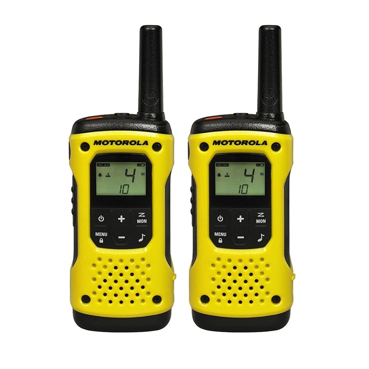 Motorola TLKR T92 H2O Walkie-Talkie Radios TWIN Pack