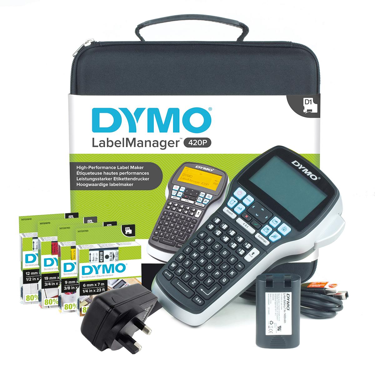 Dymo Labelmanager 420 Label Maker Kit