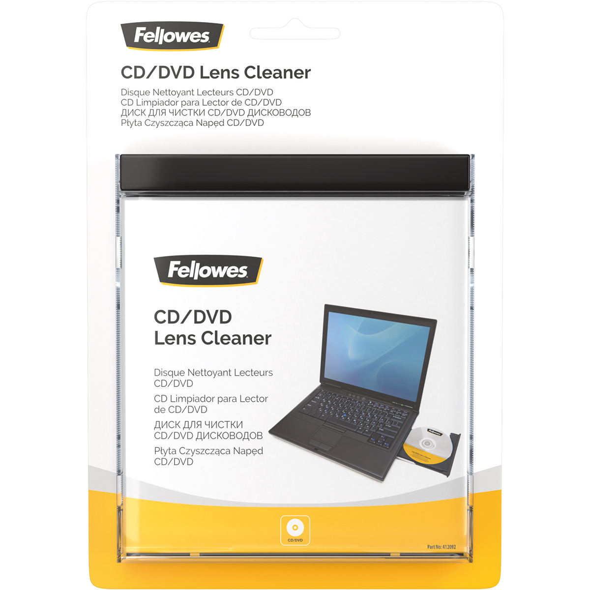Fellowes 99761 CD and DVD Lens Cleaner