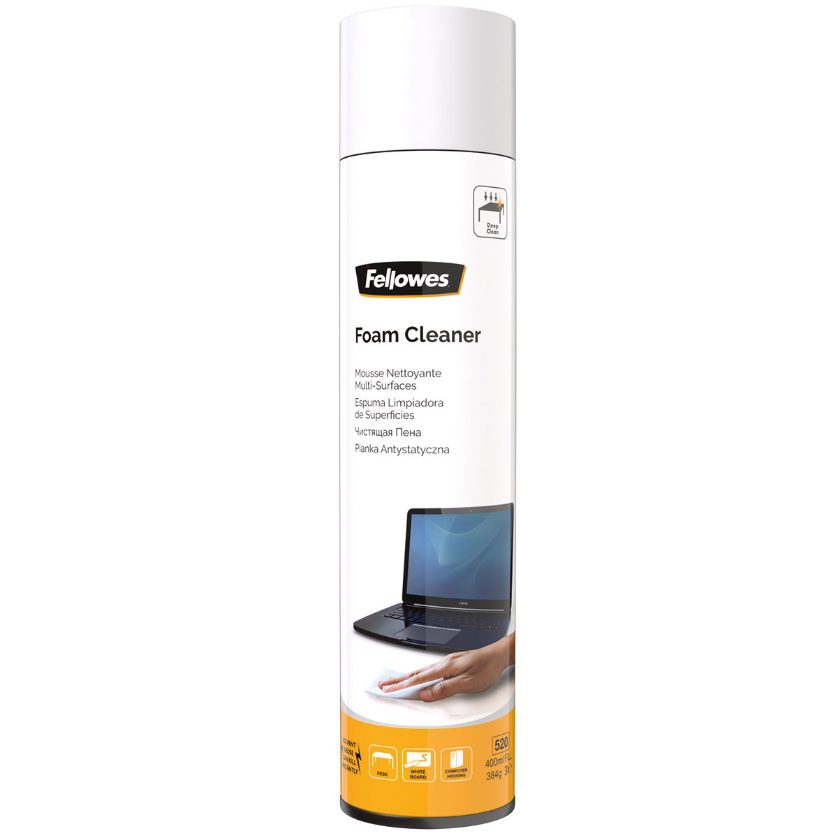 Fellowes 9967707 400ml Foam Cleaner