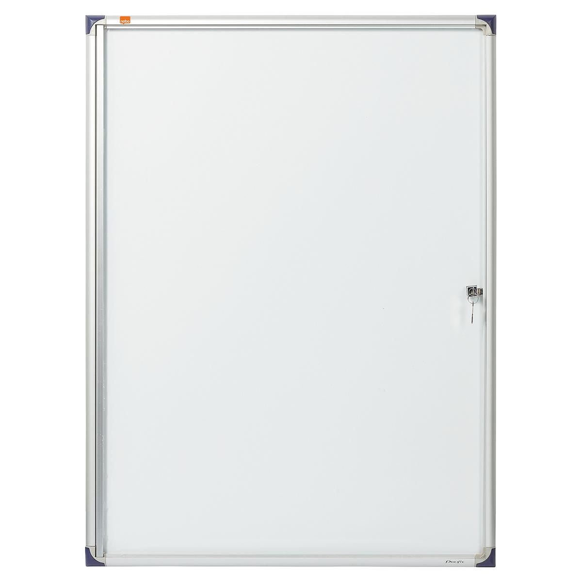 Nobo 1902282 Internal Flat Glazed Case 9 x A4 Magnetic