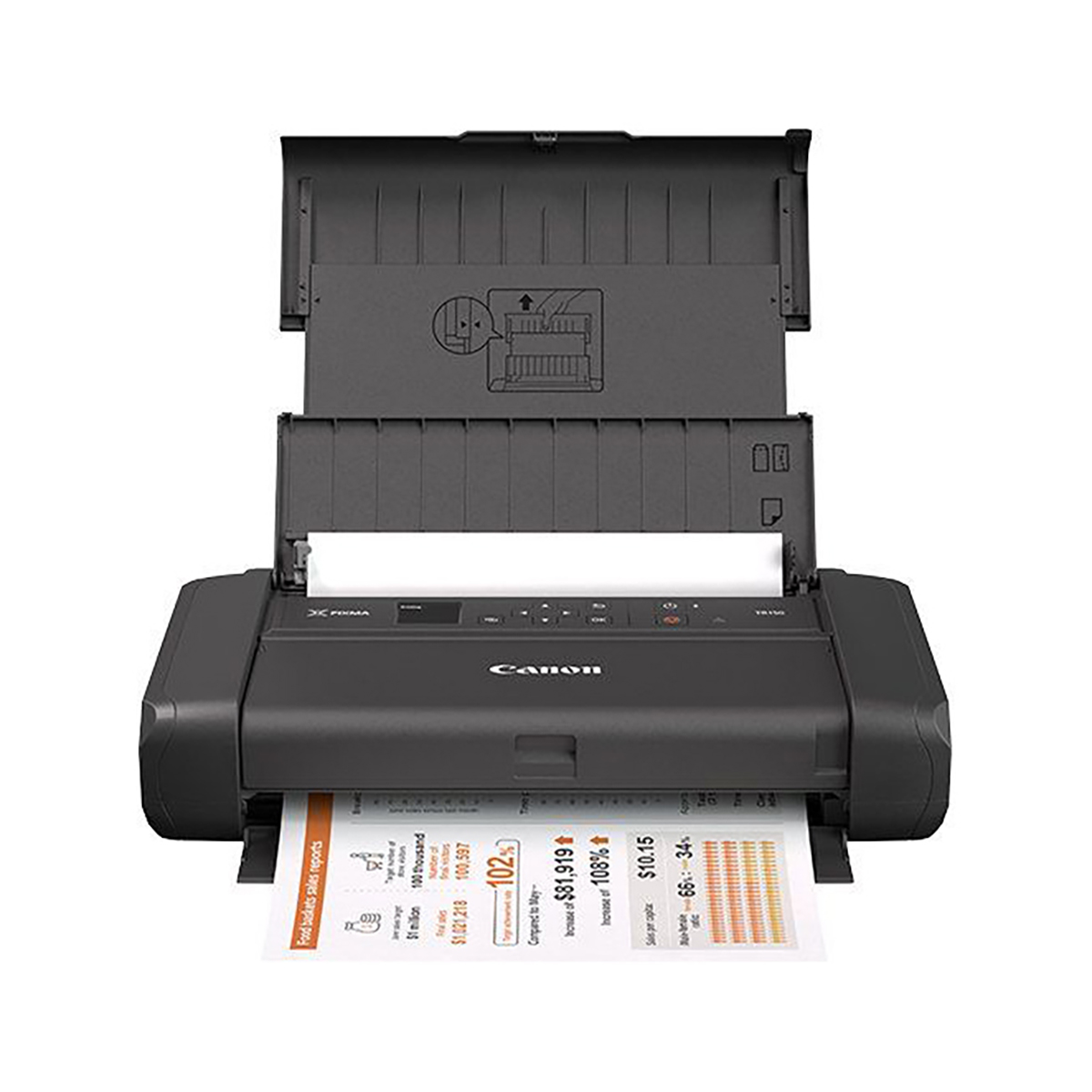 Canon PIXMA TR150 Portable Colour Inkjet Printer
