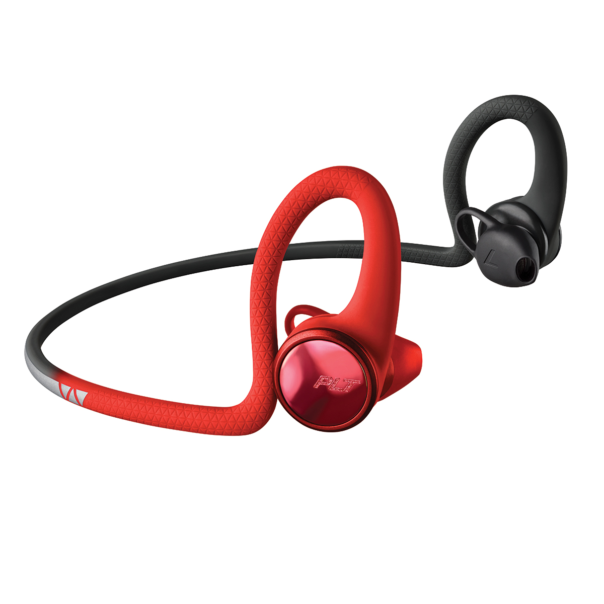 Poly BackBeat Fit 2100 Wireless Sport Headphones Red