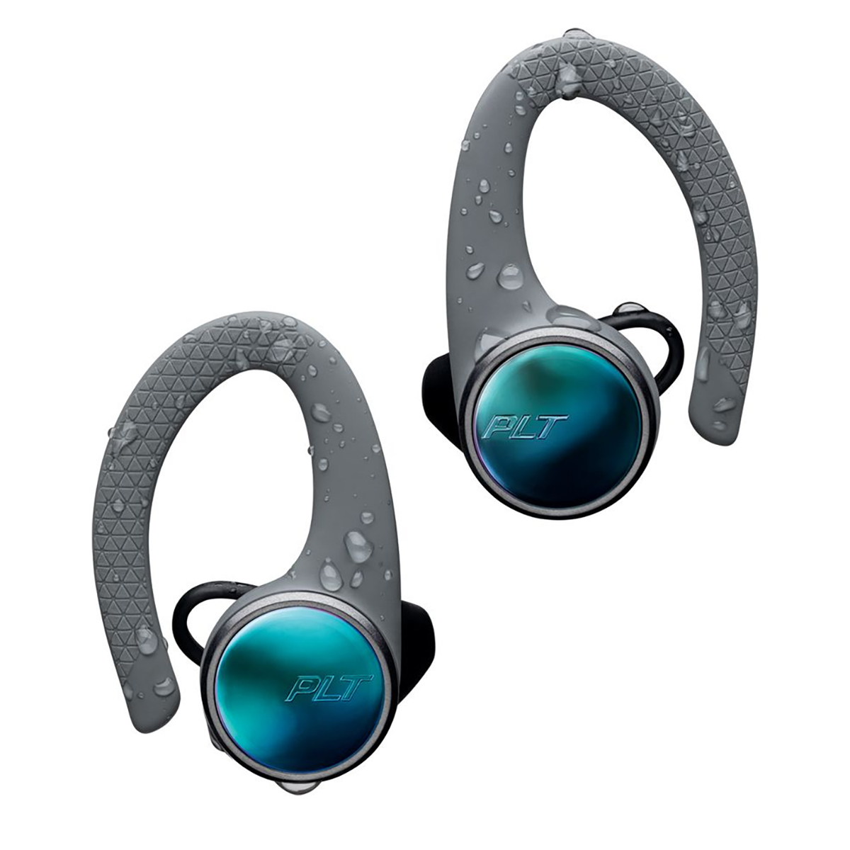 Poly BackBeat Fit 3100 Wireless Sport Earbuds Grey