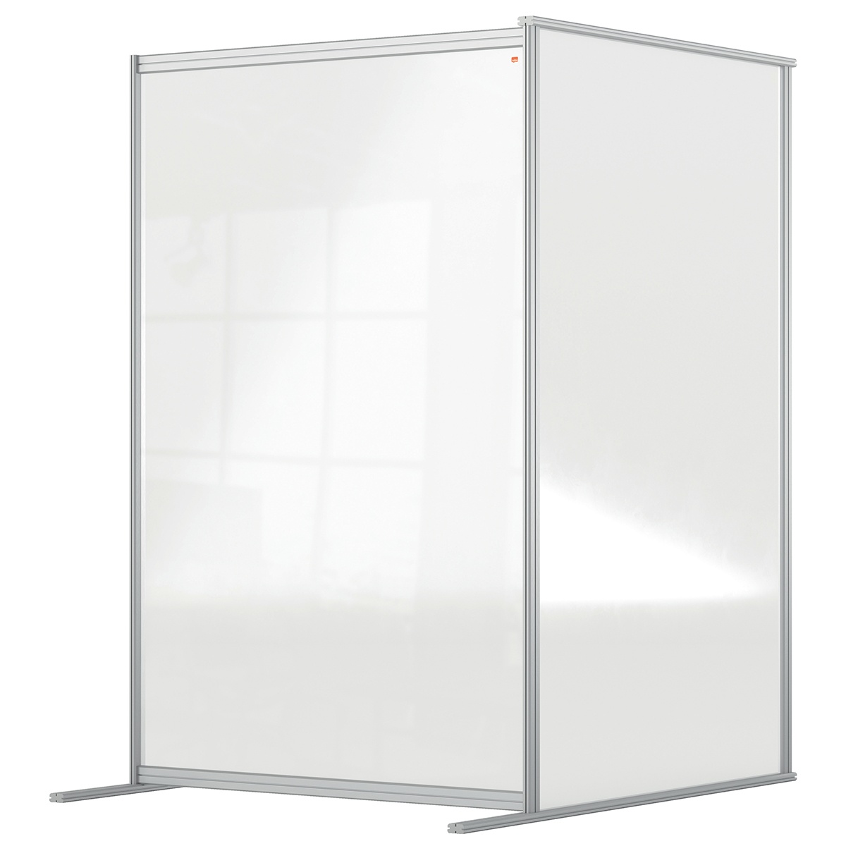 Nobo 1915518 Premium Plus Floor Divider 1200x1800mm Acrylic Extension