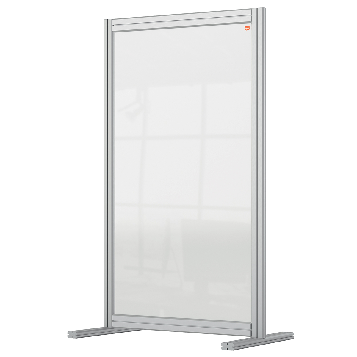 Nobo 1915493 Premium Plus Desk Divider 600x1000mm Acrylic