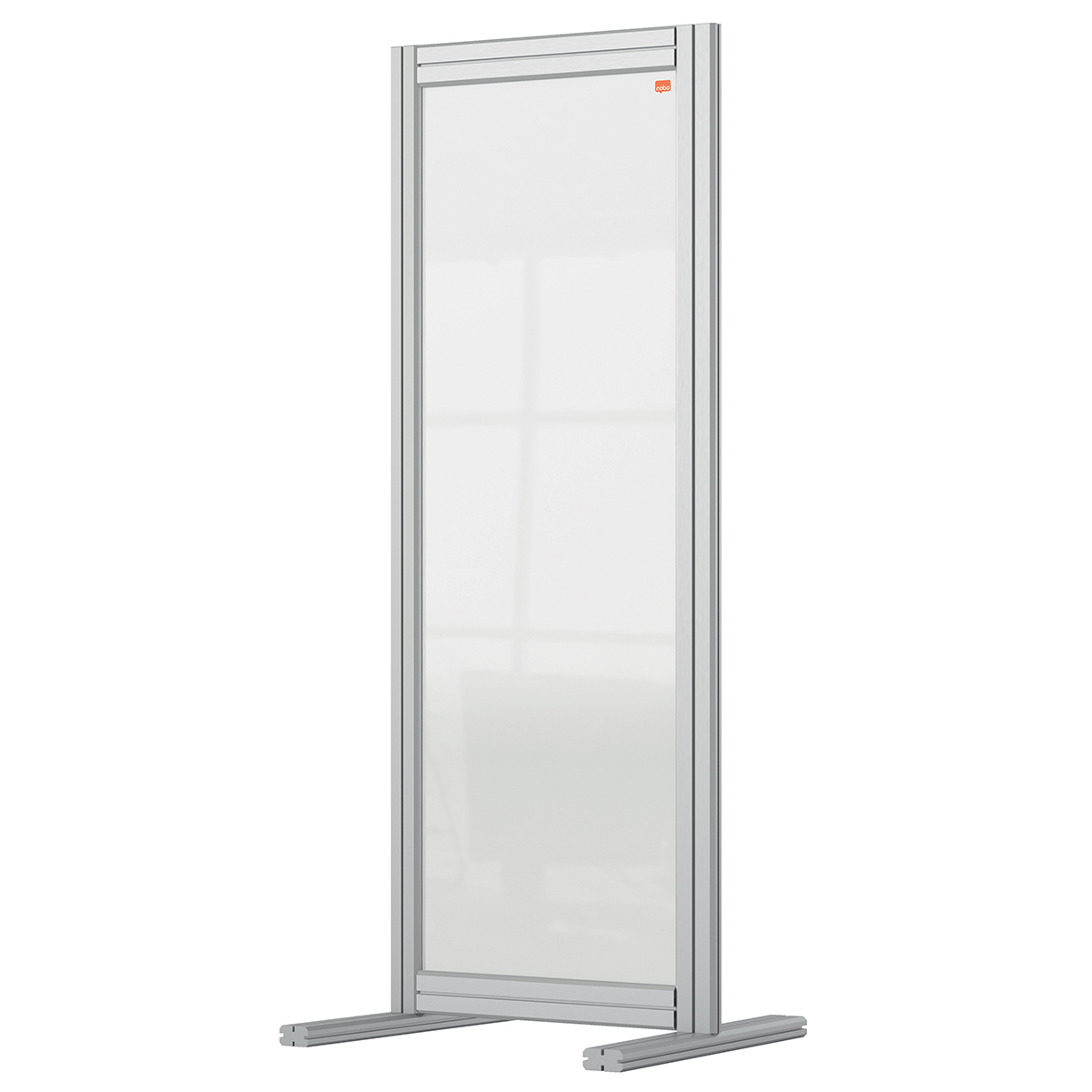 Nobo 1915494 Premium Plus Desk Divider 400x1000mm Acrylic