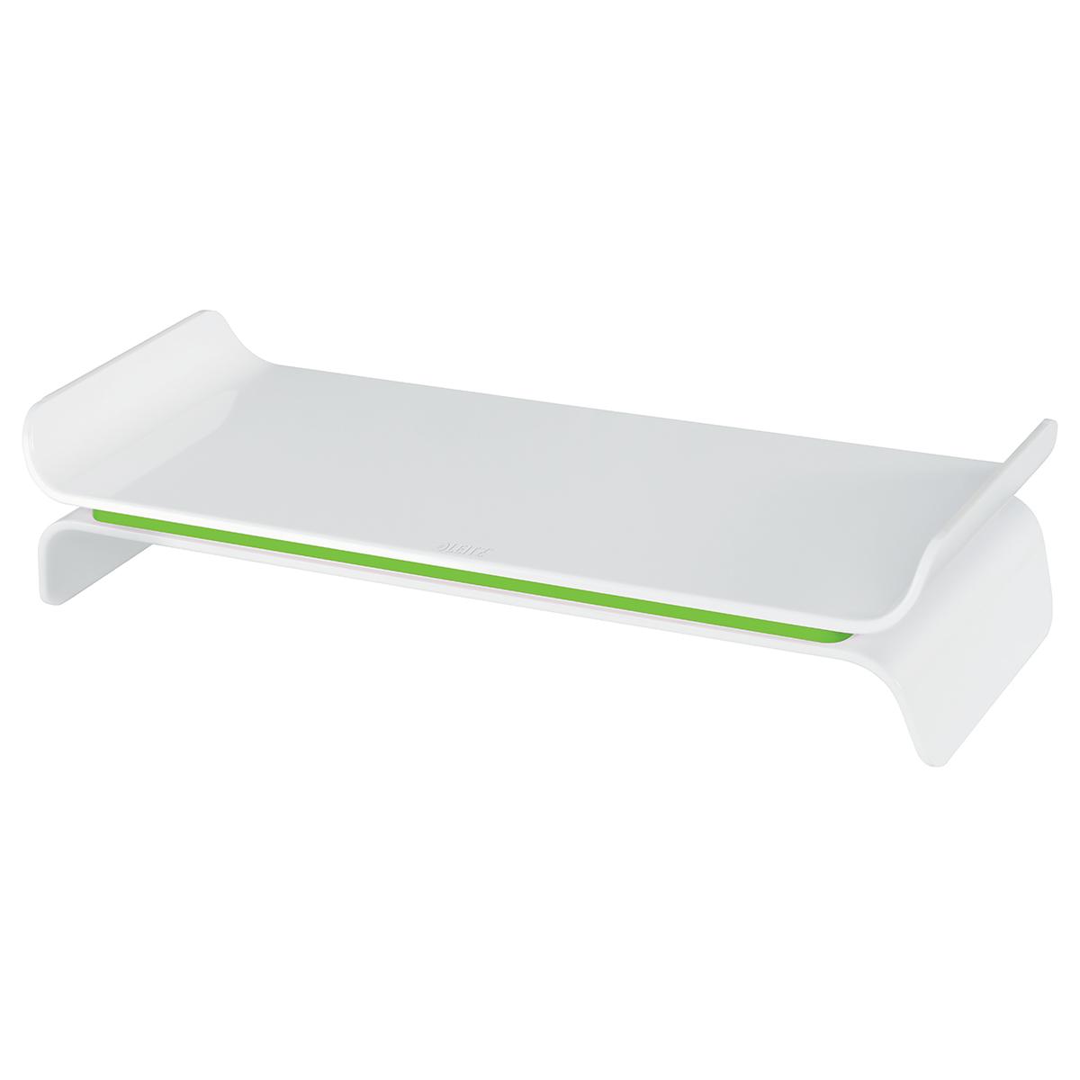Leitz Ergo WOW Adjustable Monitor Stand Green