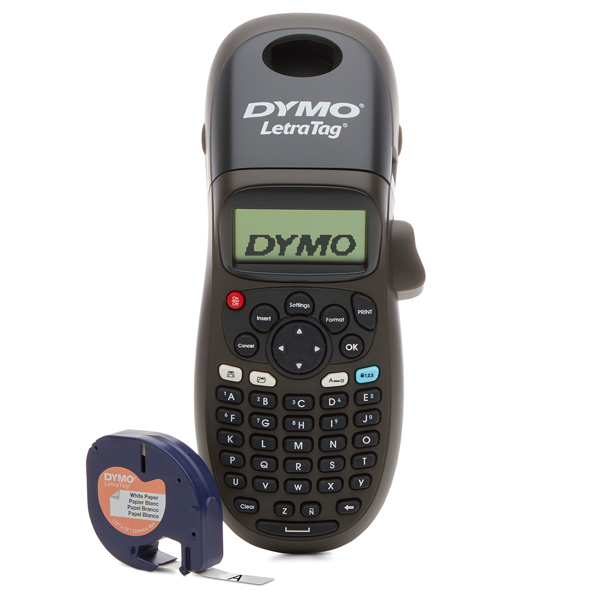 Dymo Letratag LT100-H Label Maker Black